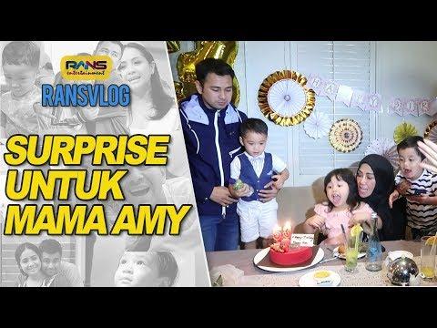 Doa Raffi & Nagita Untuk Ulang Tahun Mama Amy #RANSVLOG