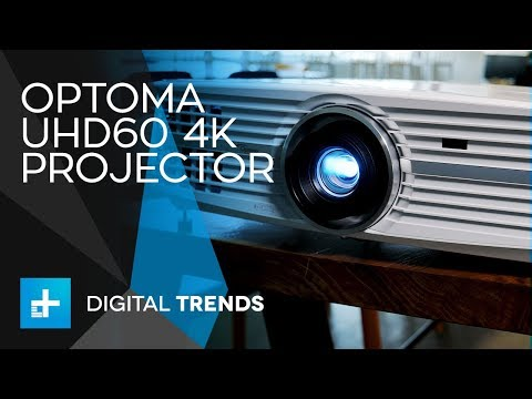Optoma UHD60 4K Projector – Hands On Review