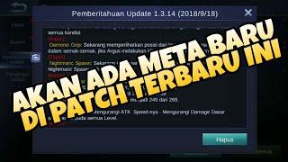 MEMBAHAS TUNTAS TENTANG UPDATE BESAR BESARAN MOBILE LEGENDS PATCH 1.3.14 - Mobile Legends