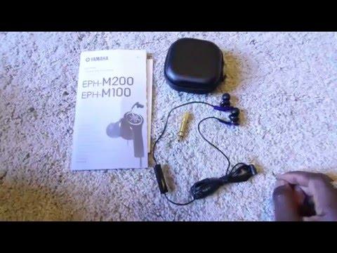 YAMAHA EPH-M100 Headphones Overview