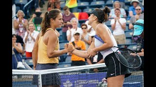 Extended Highlights: Bianca Andreescu vs. Daria Kasatkina | 2019 Rogers Cup Second Round