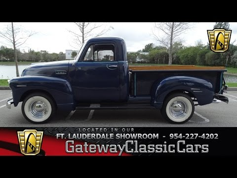 Video of 1952 Pickup located in Coral Springs Florida - $30,595.00 Offered by Gateway Classic Cars - Fort Lauderdale - KNJB