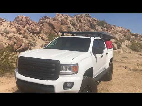 GMC Canyon 35x12.5x17 tire and wheel review