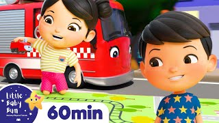 The Bus, Tractor and Car Song | +More Nursery Rhymes & Kids Songs | ABCs and 123s | Little Baby Bum