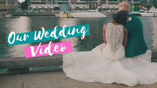 Our Wedding Video || Mr. & Mrs. Evans | Interracial Couple