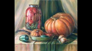 Дисциплина «Живопись» Масло. Тема: «Натюрморт на сближенные цвета» Урок 2.