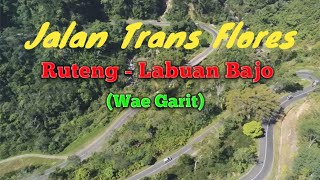 The Natural Landscape of the Trans Flores Road from Ruteng to Labuan Bajo