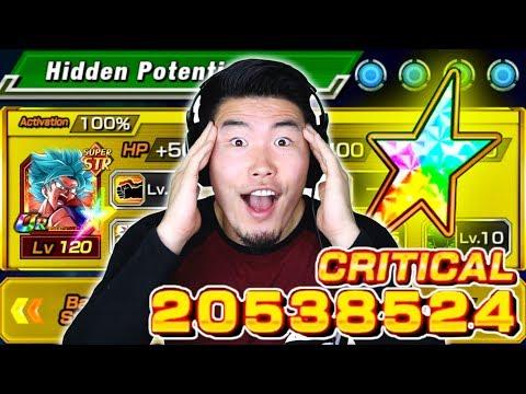 20 MILLION DAMAGE?! NEXT-LEVEL POWER CREEP! 100% STR SSBKK Goku Showcase | DBZ Dokkan Battle