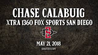 SDSU BASEBALL: CHASE CALABUIG - XTRA 1360 FOX SPORTS SAN DIEGO - 5/21/18   Kholo.pk