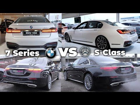 BMW 7 Series vs Mercedes S-Class 2021