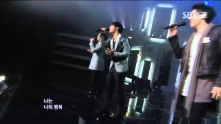 SG Wannabe -  Sunflower (SG워너비 - 해바라기) @ SBS Inkigayo 인기가요 101031