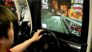 Initial D Arcade Stage 3 SIL80 Irohazaka DH Wet 07''198(Model Record)