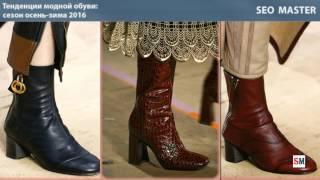 Тенденции модной обуви: сезон осень-зима 2016