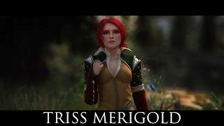 TES V - Skyrim Mods: Triss Merigold