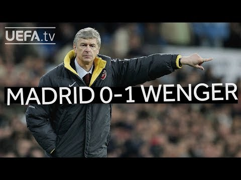 WENGER'S GREAT VICTORIES: Real Madrid 0-1 Arsenal