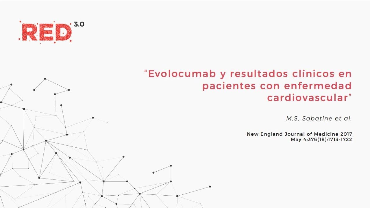 Evolocumab y resultados clínicos en pacientes con enfermedad cardiovascular