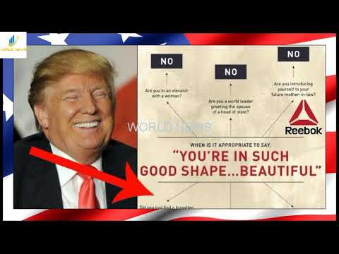 Reebok Lectures Trump On Objectifying Women, Backfires When People See What's In Their Pic