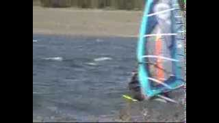 preview picture of video 'barragem WINDSURF movie marzo09'