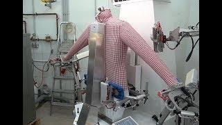 Müden Reinigung - neue Hemden-Bügel-Maschinen