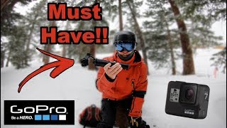 Five GoPro Attachments Every Snowboarder or Skier Needs!!