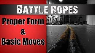 Battle Ropes - Proper Technique Explained!
