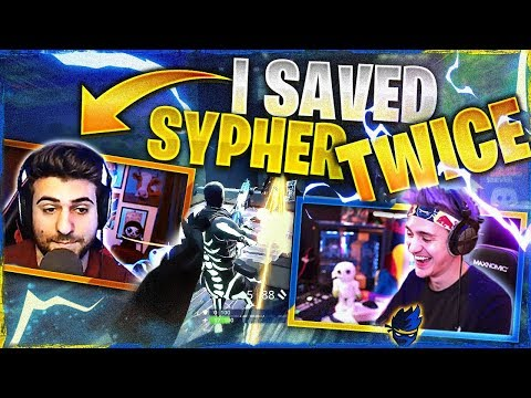 I SAVED SYPHER TWICE (Fortnite: Battle Royale)