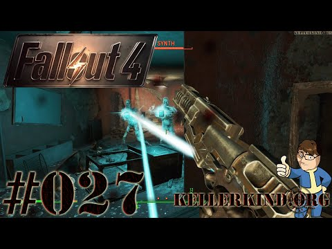 Fallout 4 [HD|60FPS] #027 - Die Synth ★ Let's Play Fallout 4