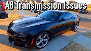 2016 Chevy Camaro SS A8 Transmission Shudder / Hard Shifting TSB 5K Mile Review