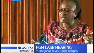 Three judge bench hears petition seeking to legalize female genital mutilation