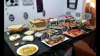 Dinner Hosted At Home/ Dawat Menu Ideas