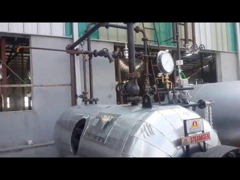 Hot Oil Fired 1-5 TPH Multi Pass Steam Generator