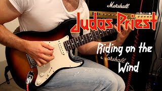Judas Priest Riding on the Wind cover