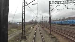 preview picture of video 'Odcinek Opole Główne - Strzelce Opolskie - Gliwice'