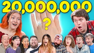 We React To 20,000,000 Subscribers | Thank You Video (and engagement?!)