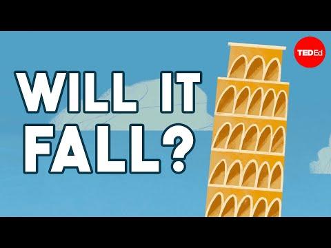 Proč se šikmá věž v Pise nezřítí? - TED-Ed