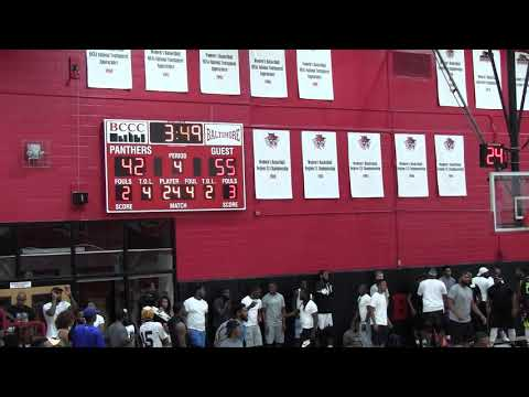 Team Dream vs Sams Ballers 4th Qtr- 2018 Brunson League Playoffs Quarterfinals @BCCC