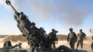 This is the Huge M777 Howitzer That U.S. Marines Burned out While Fighting Enemies in Middle East