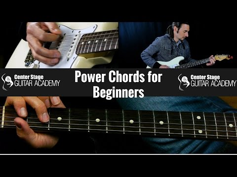HOW TO PLAY GUITAR FOR BEGINNERS POWER CHORDS
