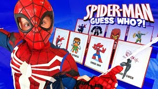 Spider-Man: Into the Spider-Verse GUESS WHO?!   KIDCITY