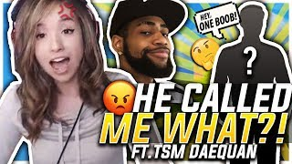 HE KEEPS CALLING ME WHAT?! FORTNITE DUO W/ TSM DAEQUAN!