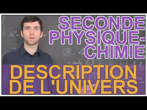 Description De L'univers - Physique-Chimie - Seconde - Les Bons Profs Mp3