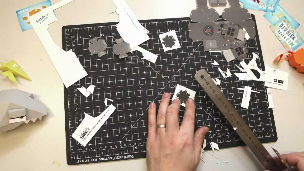 Aquatic Papercraft PSN Adventure Derrick the Deathfin 25% Off This Week