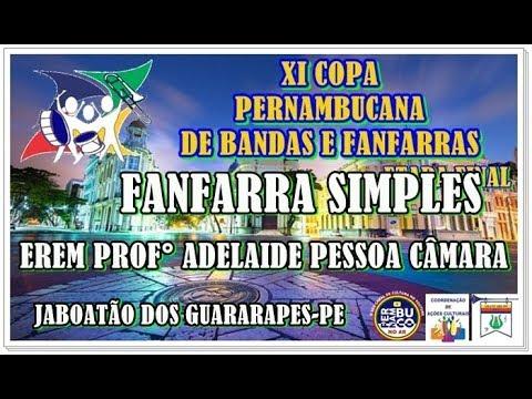 FANFARRA SIMPLES ADELAIDE PESSOA CÂMARA FINAL DA XI COPA PE DE BANDAS E FANFARRAS