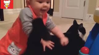 Прикольные видео про детей Детки   няшки, зверушки   милашки