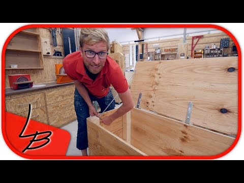 Holzkiste selber machen? So gehts schnell & einfach | Lets Bastel