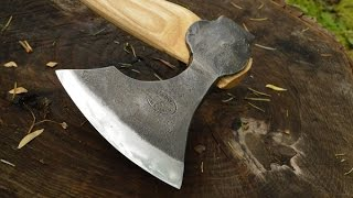 Viking Carving Axe By Toronto Blacksmith