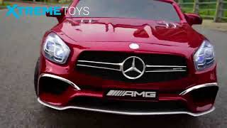 Kids Mercedes-Benz SL65 12V Electric Ride on Car Test Drive from Xtreme-Toys.co.uk