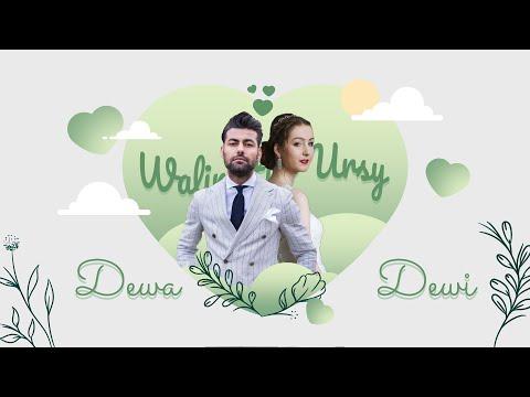 Video Wedding Invitation Green