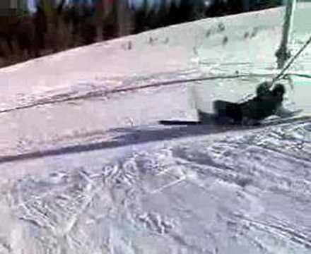 ski lift fail