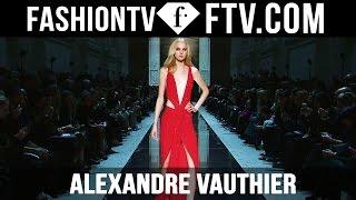Alexandre Vauthier SS16 At Paris Haute Couture Week | FashionTV